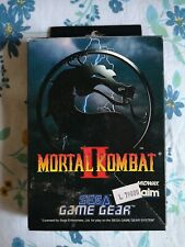 Mortal Kombat 2 Sega Game Gear Pal Boxed