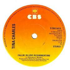 """Tina Charles - Fallin' In Love In Summertime - 7"""" Record Single"""