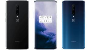 "OnePlus 7 Pro 12/256GB BLUE 6.67"" Snapdragon 855 48 MP+16 MP+8 MP Phone by FedEx"