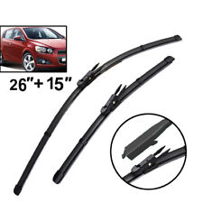 Front Windscreen Wiper Blades For Holden Barina TM 2011 2012 2013 2014 2015 2016