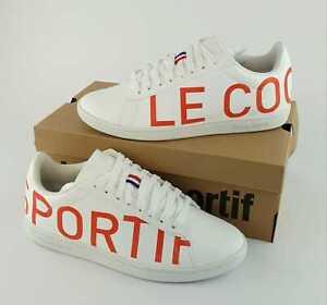 Sneaker Le Coq Sportif Größe:40-45 Weiß UNISEX Schuhe Sport Straßenschuhe