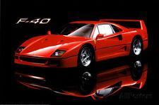 Ferrari F40 Poster Print, 36x24
