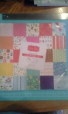 "Grace Taylor Playtime scrapbook pad 12"" x 12"" papers 100 sheets - dirt on front"