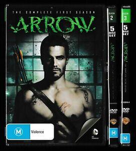 Arrow, Seasons 1 2 & 3 - DVD / DC Comics / Green Arrow