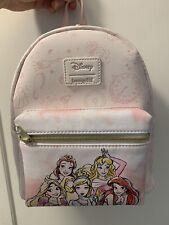 LOUNGEFLY DISNEY PRINCESS MINI BACKPACK Belle Aurora Rapunzel Ariel Cinderella