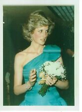 Diana, Princess of Wales - formal green gown.