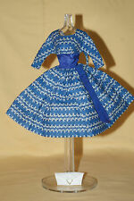 Vintage Barbie Let's Dance Dress With White Clutch #978 Very Nice