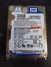Western Digital 320GB SATA 2.5 Laptop Hard Disk Drive HDD WD3200BPVT (42s)