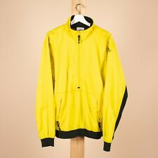 Vintage RARE ADIDAS EQUIPMENT Yellow Ski Face Track Jacket Size Men's L /R18002