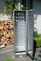 SMOKI - ISOLIERTER Räucherofen 85x39x33cm aus AISI430-Edelstahl Nr.8533 Räucher