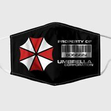 Resident Evil Re3 Ubcs Umbrella Corporation Raccoon City Adult 3D Face Mask