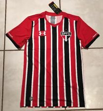 281e48277 NWT UNDER ARMOUR Sao Paolo FC Brazil Soccer Jersey Men s Small