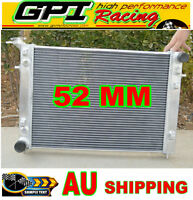 52MM Holden Commodore VN VG VP VR VS V6 3.8L AT/MT ALLOY ALUMINUM RADIATOR