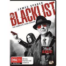 THE BLACKLIST-Season 3-Region 4-New AND Sealed-6 DVD Set-TV Series