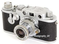 Leica IIIF Delay Action - 35mm Rangefinder by LEITZ Wetzlar + 1:3.5 F=50mm Lens