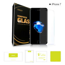 2 x CRAZY iPhone 8 6 7 6s Plus X Tempered Glass Screen Protector Film For Apple