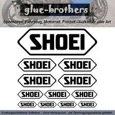 SHOEI Aufkleber Sticker Farbauswahl Schriftzug Helm Roller Decal Kleber Logo