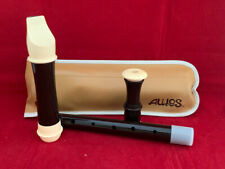 More details for aulos treble recorder model no 209n three pieces,with a case excellent condition