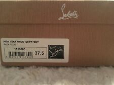 Christian Louboutin Very Prive 120 Patent Size 37.5