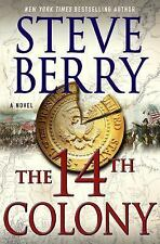 Cotton Malone: The 14th Colony by Steve Berry (2016, Hardcover) Signed Editio