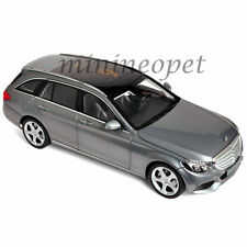 NOREV 183475 2014 MERCEDES BENZ C CLASS T-WAGON 1/18 MODEL CAR GREY METALLIC