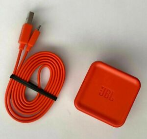 JBL Charge 3, 2 FLIP 4 3 Pulse 3 2 Speaker Power AC Adapter Brick with USB Cable