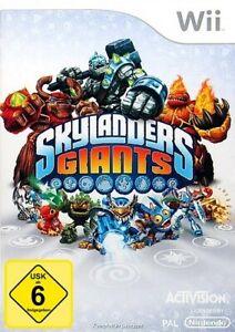 Nintendo Wii Spiel - Skylanders: Giants nur Software DEUTSCH mit OVP