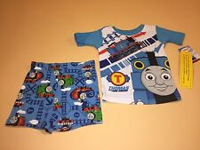 Thomas & Friends Toddler Boy Short Sleeve Shirt & Shorts Pajamas New 3T