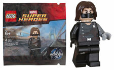 RARE LEGO Avengers Winter Soldier Figurine polybag promo Marvel Super Heroes