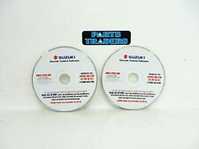 Genuine Suzuki Motorcycle Electronic Technical Publications Service Bulletins CD