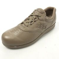 SAS Free Time Women's 11 Shoes Comfort Walking Beige Lace Up Made in USA