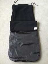 Black Pushchair Pram Universal Cosytoes Footmuff Groovystyle