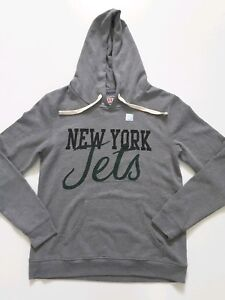 New York Jets NFL Junk Food Hoodie Sweatshirt Womens Size M