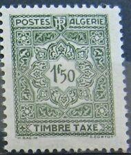 ALGERIE Taxe 38 - Neuf** sans charniere