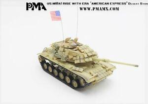 Precision Model Art PMA 1/72 USMC M60A1 wERA American Express Desert Storm P0335