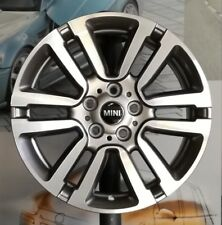"A Set of 4 Genuine OEM Alloy Wheels 17"" Mini Clubman F54 Styl497 spectre grey"