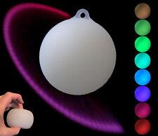Rainbow Poi, superweiche LED Pois m. Schlaufen & Socken
