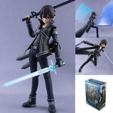 "Anime Sword Art Online SAO Kirito 13cm/5.2"" Action Figure Figurine New in Box"