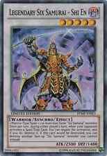 1 X Legendary Six Samurai - Shi En Super Mint RYMP-ENSE1 Ra Yellow Mega Pack