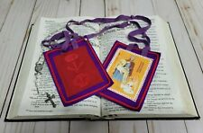 Purple Scapular of Benediction and Protection Catholic WE COMBINE SHIPPING