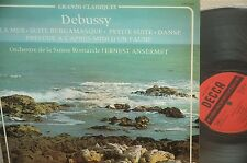 DEBUSSY*LA MER,ETC*ANSERMET/DECCA FRANCE 117.231 STEREO