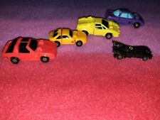 Transformers 1988 Mini Micromasters Autobots Lot of 5  mini Batman car Pre-owned