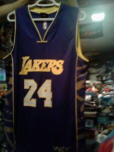 Kobe Bryant #24 AOXINGANDI Purple REPLICA Jersey (LA Lakers)MENS LARGE RARE