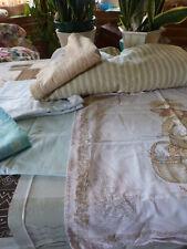 lot4 schutzhüllen bezüge und nackenrollen davon ein aus feder -stoff matratze