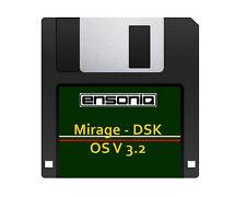 Ensoniq Mirage OS Version 3.2 Boot Disk - Orchestra Samples - Fastest Shipping