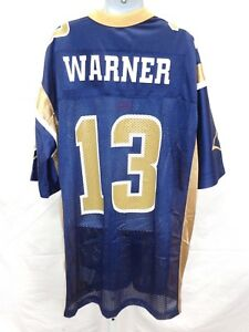 St. Louis Rams Kurt Warner Youth Football Jersey Throwback Navy