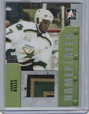 2005-06 ITG Heroes and Prospects Series 2 Nameplate Silver #N-41 Shawn Belle /20