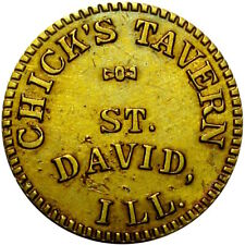 St David Illinois Good For Token Chick's Tavern