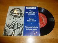 "THE PHILHARMONIA ORCHESTRA - The Bartered Bride - UK 3-track 7"" Vinyl Single"