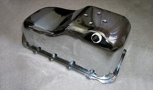 Chrome Chevy S-10 S-15 Truck S10 S15 pickup camaro firebird SBC 2.8L V6 Oil Pan